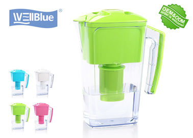 2.5L Plastik Wellblue Alkaline Water Pitcher, Pembuat Air Mineral Alkaline Murni
