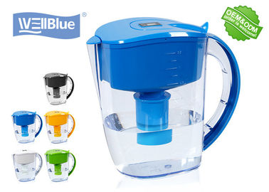 Antioksidan Tinggi PH Alkaline Water Filter Jug, Pitcher Air Wellblue Plastik